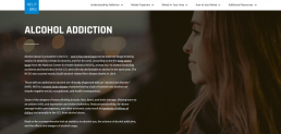 Help.org - Alcohol Addiction screenshot