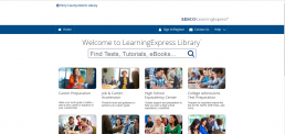 LearningExpress Library screenshot